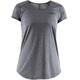 Craft Eaze - T-shirt course à pied Femme - gris